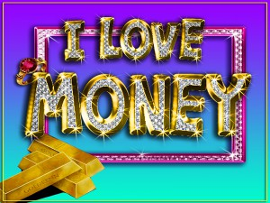 I love Money Vidrio