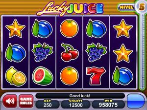 Lucky Juice nivel 5